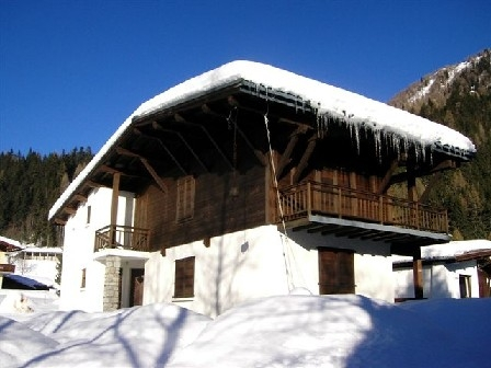 Argentiere Holiday Rental Chalet in the French Alps, Haute-Savoie, France