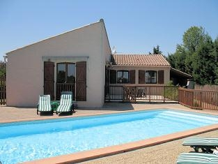 Aude Holiday Rental Villa with Private Pool in Villemoustaussou, Languedoc, France
