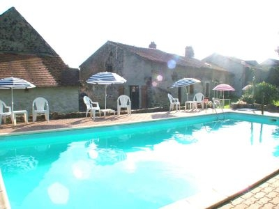 Holiday Rental Gite with Pool near Limoges, South West France ~ Gite 1