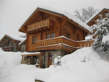 Les Coches Holiday Rental Chalet, France ~ Chalet les Sorbieres