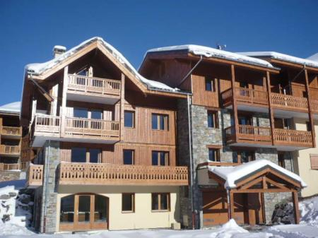 Holiday Apartment in Les Menuires, Rhone-Alpes, France ~ Cristaux 6 personnes