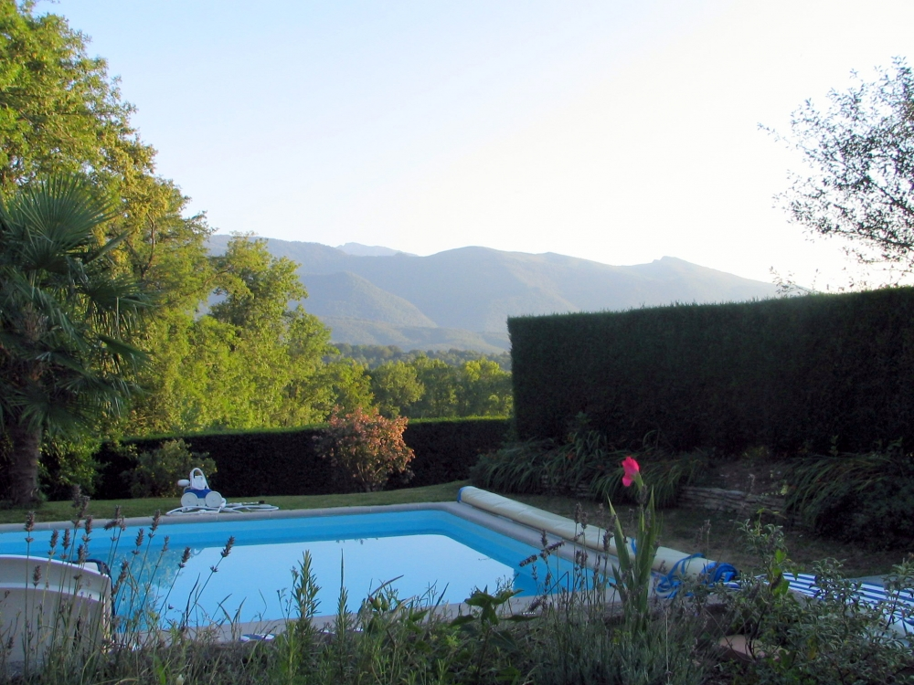 Spacious House Rental with Pool in Ogeu-les-Bains, France ~ House with Pyrenees Views