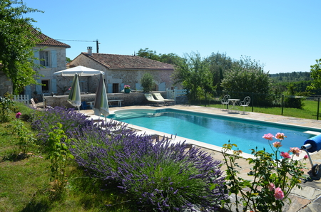 Farmhouse rental in Dignac, Poitou-Charentes, France ~ 6 bedroom farmhouse