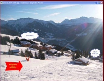 French Alps Holiday Apartment in Les Saisies, France ~ 2 bedroom Holiday Apartment J3