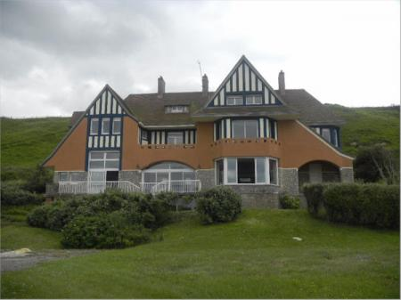 Ocean Front Historic D-Day Calvados Holiday House directly on Omaha Beach, sleeps 14