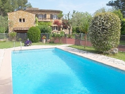 Villa rental in Peymeinade, Cote-d`Azur ~ 4 bedroom Villa with Pool