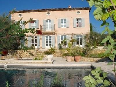 House Rental with Private Pool in Le Rouret, Provence / 5 Bedroom Holiday House