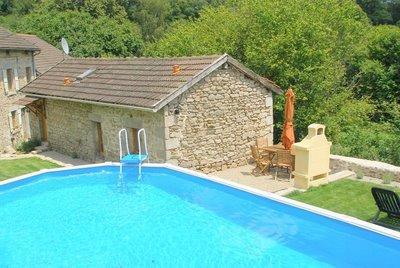 Limousin Gite rental with Pool in Haute-Vienne, France - La Porcherie