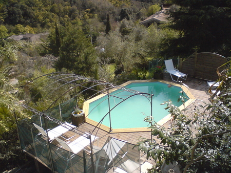 Villa rental with private Pool in Auribeau-sur-Siagne, Cote-d`Azur, France / Villa Amandier