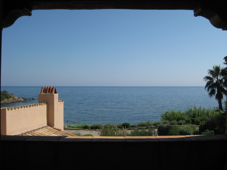 Beach house in Bonne Terrasse, Cote d`Azur, near St Tropez / 7 bedroom House, or 2 Separate Flats
