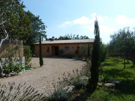 Villa rental with Pool in Cote d`Azur, Saint Cezaire sur Siagne, France
