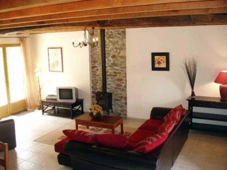 3 bedroom Cleguerec Cottage rental in Brittany, Morbihan, France / Le Jardinet