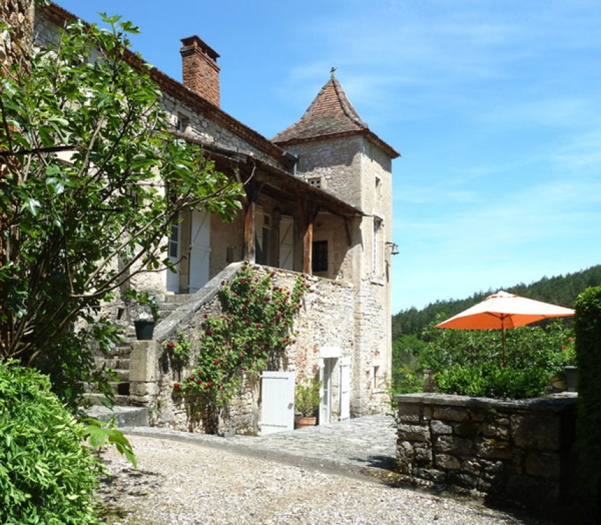Stunning Holiday Rental Homes in Lot, Luzech, France - Domaine de Roubignol