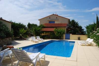 Laroque des Alberes Apartment with Private Pool, Languedoc, Pyrenees-Orientales, France
