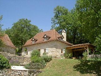 Traditional Quercy Stone Holiday Cottage with Private Pool, Lot, France - Genevrier