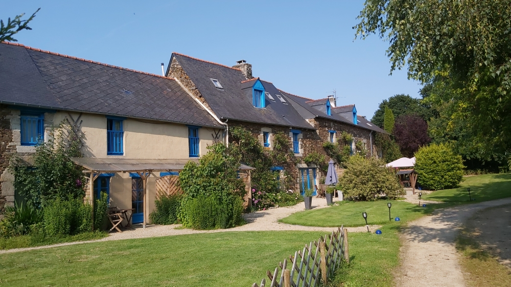 4 Gites in Brittany with pool ,6km From Dinan, Brittany, France
