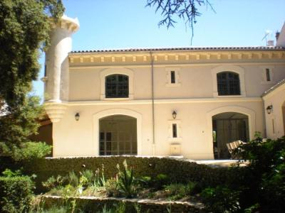 5 bedroom Viviers House Rental with Pool in Ardeche, France