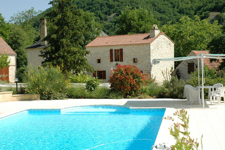 2 bedroom Gite rental Dordogne/Lot, Degagnac / La Chouette