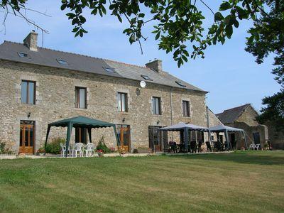 2 bedroom gite rental Brittany, Cotes d`Armor, Near Dinan / La Mere Canard