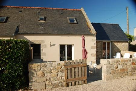 Charming Brittany Holiday House, Santec, Roscoff Area / La Bisquine