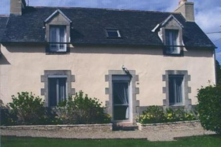 Traditional Breton House in Ploneour-Lanvern, Near Quimper, France