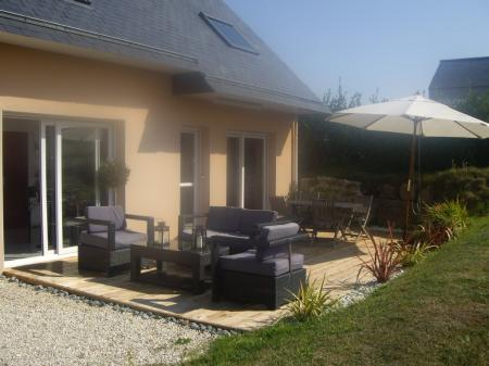 Holiday Villa with Pool to rent in Prospoder, Finistere, Brittany