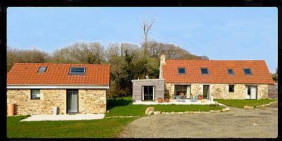 Holiday Farmhouse to rent, Trebeurden, Brittany, France