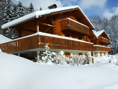 Luxury Holiday Chalet Near Abondance, Chatel, Haute Savoie, France / South Facing