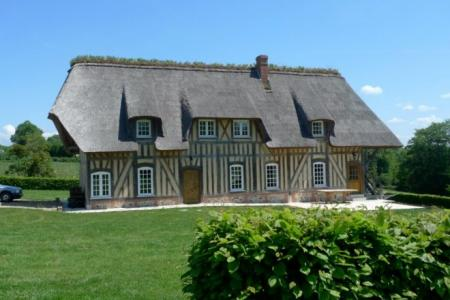 Beautiful Holiday Home Rental in St Maclou, Eure, France / La Ferme du Mont