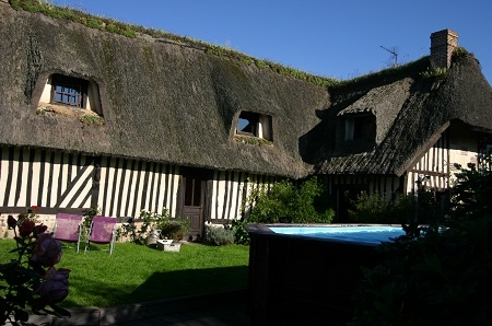 Holiday Gites and Bed and Breakfast Accommodation to rent in Eure, Normandy, France
