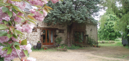 Two Holiday Rental Cottages in Chigne, Loire Valley, France