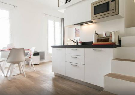 New Superb Studio Apartment for Rent in Central Nice, France