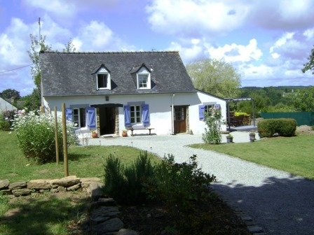 Holiday Cottage Rental near Moelan-sur-Mer, Brittany, South Finistere, France