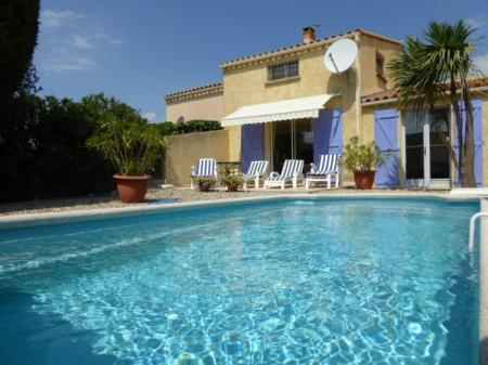 Holiday Villa In Marseillan, Nr Cap D`Agde, Languedoc, France