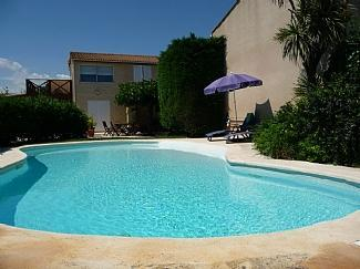 Holiday Apartment and Villa Rental, Marseillan, Nr Cap D`Agde, Languedoc, France / Beau Ja, 2 Pools