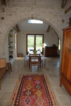 Holiday Beautiful Villa Rental with Large Pool in Calvignac, Lot, France