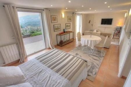Holiday Studio to rent in St Andre de la Roche, French Riviera