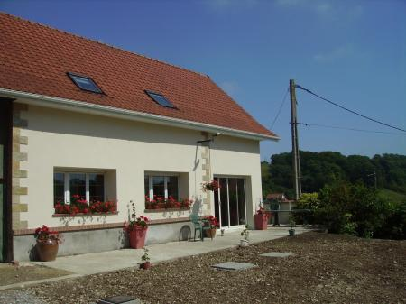 Self Catering Holiday rental gite in Courset, Pas-de-Calais, France