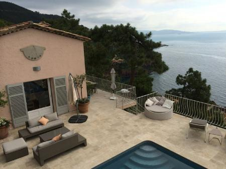 Stunning Private Theoule-sur-Mer Holiday Villa, Private Pool and Panoramic Sea Views