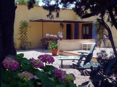 Languedoc Holiday Villa Rental with Pool in Villelongue- de-la-Salanque, France / The Pumphouse