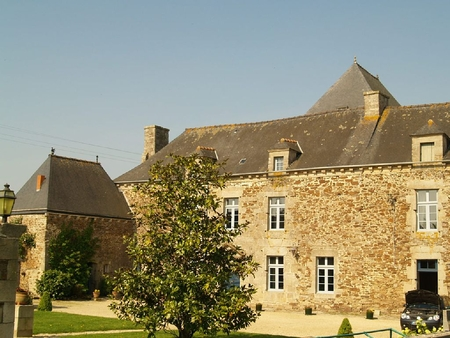 Holiday Loft Apartment Rental in Beautiful Seventeenth Century Mansion Cotes-d`Armors, France