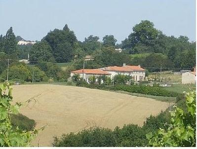 Lovely Holiday House with Pool near Mirambeau, Charente Maritime, France - HIRONDELLE