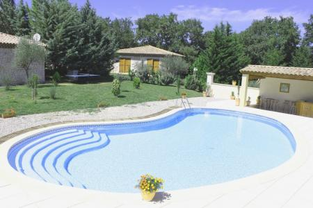Holiday Cottages with Private Pool in St Marcel de Careiret, Languedoc, France