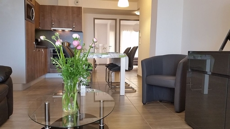 Holiday Apartment in Marseillan, Languedoc, Overlooking Pond of Thau and Sete / Logement 108