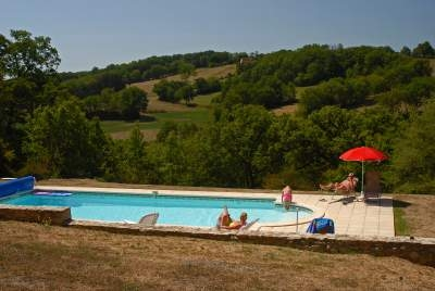 Holiday Country House in Labastidette, Lot, Midi Pyrenees, France / L`Ermitage