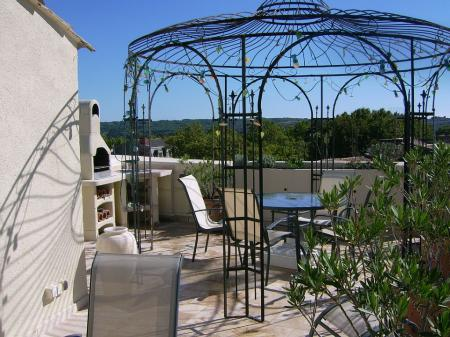 Pezenas Holiday Apartment Rental With Private Terrace, Herault, France