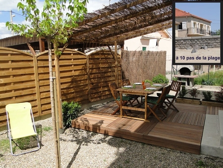 Beachfront Holiday Apartment  In Grau-d'Agde, Herault, France