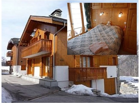 Superb Courchevel Le Praz Holiday Chalet in the French Alps