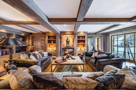 Courchevel Holiday Rental Chalet near the Route de la Renarde, France /  Chalet d`Hadrien