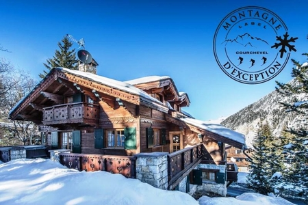 Holiday Ski Chalet in Courchevel Moriond /  Chalet Amnesia